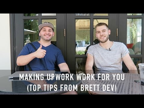 HOW TO SUCCEED WITH UPWORK FREELANCING (Interview with Brett Dev)