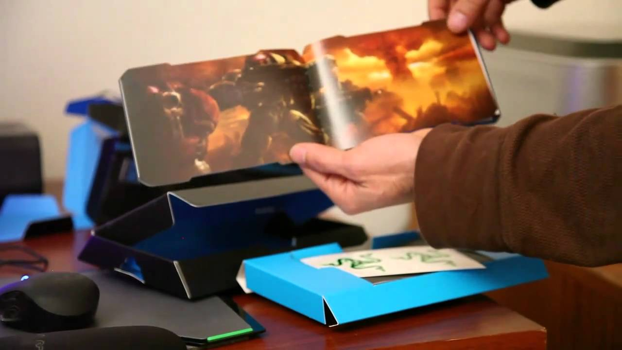 7ab3a927953 Unboxing - Razer Spectre StarCraft II Official Gaming Mouse StarCraft 2
