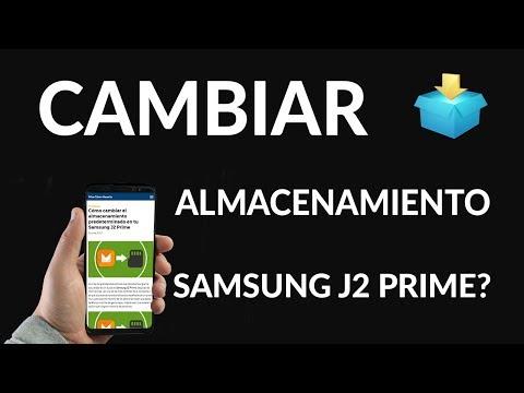 Cómo Cambiar el Almacenamiento Predeterminado en Samsung J2 Prime