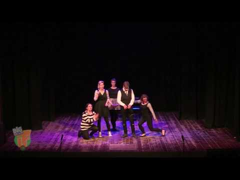 'Happily Never After' in Barcelona 2016.  An improvised musical by The Maydays.