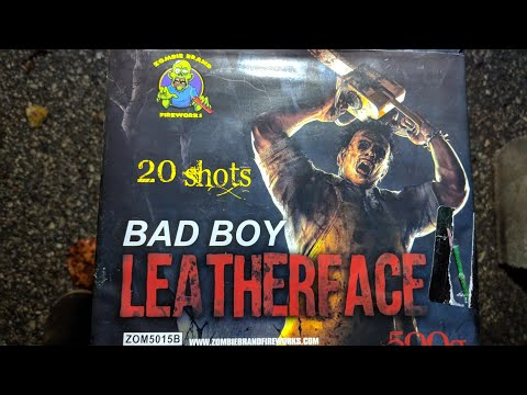2️⃣0️⃣shot 500gram: LEATHER FACE☠️ (🧟‍♂️Zombie Brand) Bad Boy Assortment