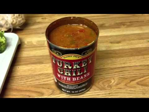 Trader Joe's Turkey Chili with Beans Product Review