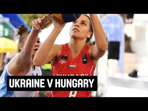 Ukraine v Hungary - Women's Full Game - FIBA 3x3 U23 Nations League 2018 - Europe - Stop 5 -Debrecen