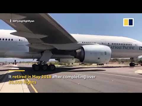 Cathay Pacific donates the first Boeing 777 aircraft to US Museum
