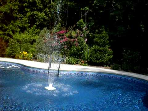Pool Fountain Video How To Save Money And Do It Yourself