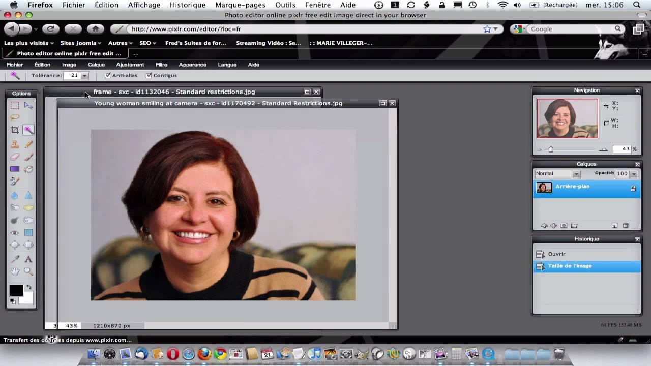 Image Pour Mettre Dans Un Cadre mettre un portrait sous cadre avec pixlr