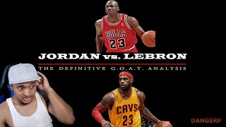 JORDAN VS. LEBRON - THE BEST GOAT COMPARISON | GOAT REACTION