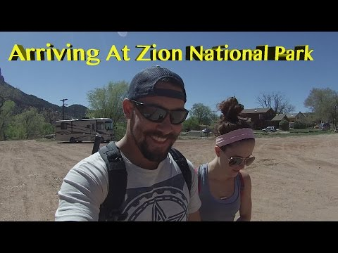 Through The Tunnel ~ Driving Zion National Park ~ Advice On Finding A Camp Ground