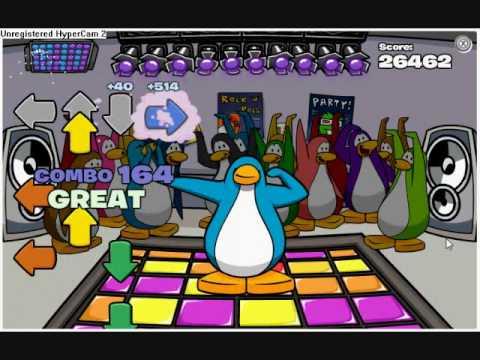 Club Penguin Dance Contest Expert On Lets Bounce 262 Combos