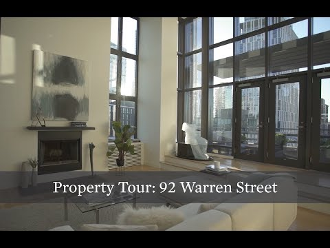 Property Tour: Glass Penthouse Duplex at 92 Warren St