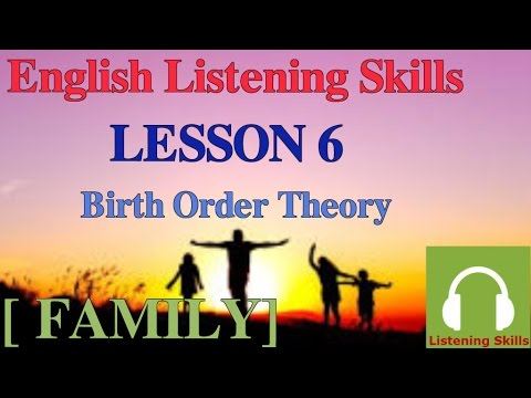 Luyện nghe tiếng Anh có phụ đề :[Chủ đề gia đình] Bài 6
