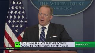 'Widely praised US attack in Syria, few countries not with us, Russia among those'   WH spokesman