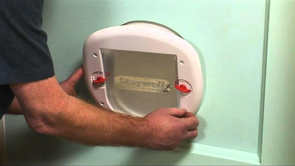 Staywell® Porte à 4 Positions Pour Gros Chats Et Petits Chiens