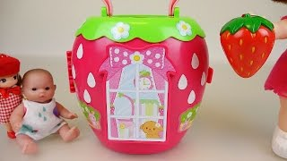 Video Baby Doll Strawberry house toy download MP3, 3GP, MP4, WEBM, AVI, FLV Desember 2017