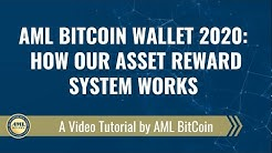 AML Bitcoin Wallet 2020: How Our Asset Reward System Works