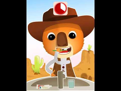 Thumbnail Brosse-toi les dents avec Ben le koala au Far West !