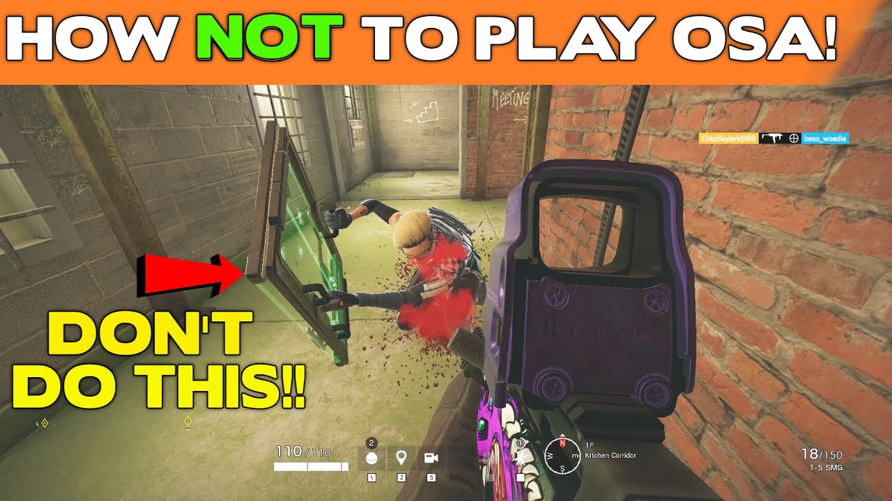 Download How NOT to Play OSA!    Rainbow Six Siege Tips