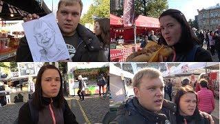 Неизвестная еда. Рынок еды разных стран. Ищем владельца шаржа.