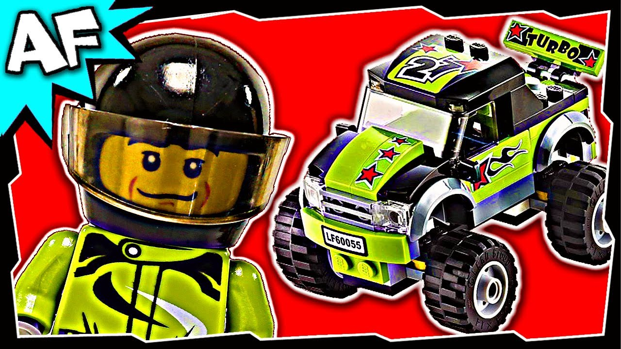 Lego City Monster Truck Stop Motion Build Review Youtube
