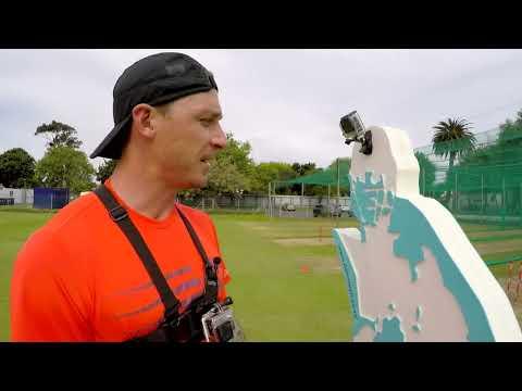 Dale Steyn attempts to break a GoPro!