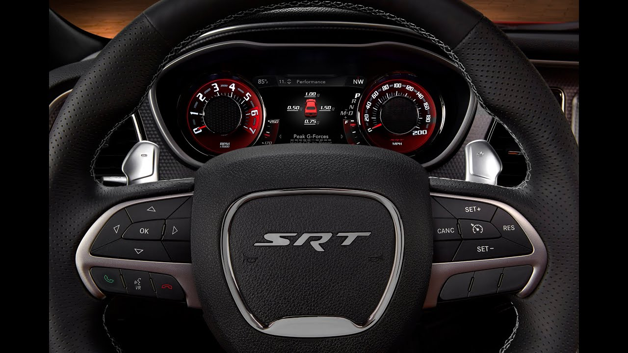 New Dodge Challenger Hellcat Part 2 Interior Dashboard