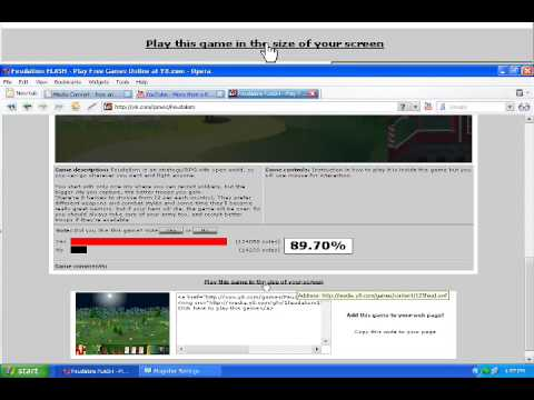 How to download Flash games in Y8.com! Very Easy!
