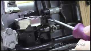 Подольськ 142. Маленька довжина стібка на швейній машинці. Відео№80.