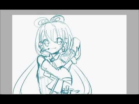 【Vocaloid】Speedpaint Luo Tianyi  PART 1   板绘-洛天依