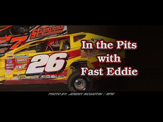 In the Pits with Fast Eddie Ryan Godown