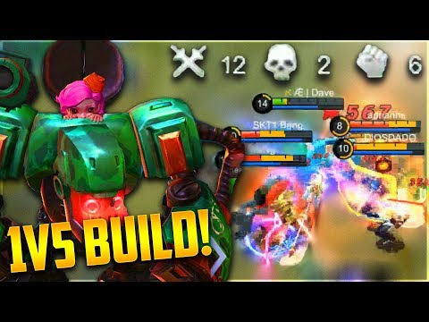 BEST BUILD FOR JAWHEAD to CARRY! Mobile Legends Jawhead Ranked Gameplay