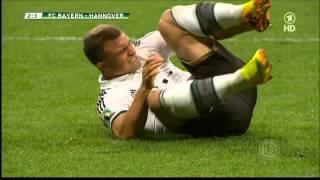 FC Bayern - Hannover  4-1 DFB-Pokal HD
