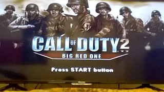 Call Of Duty 2 The Big Red One Ps2
