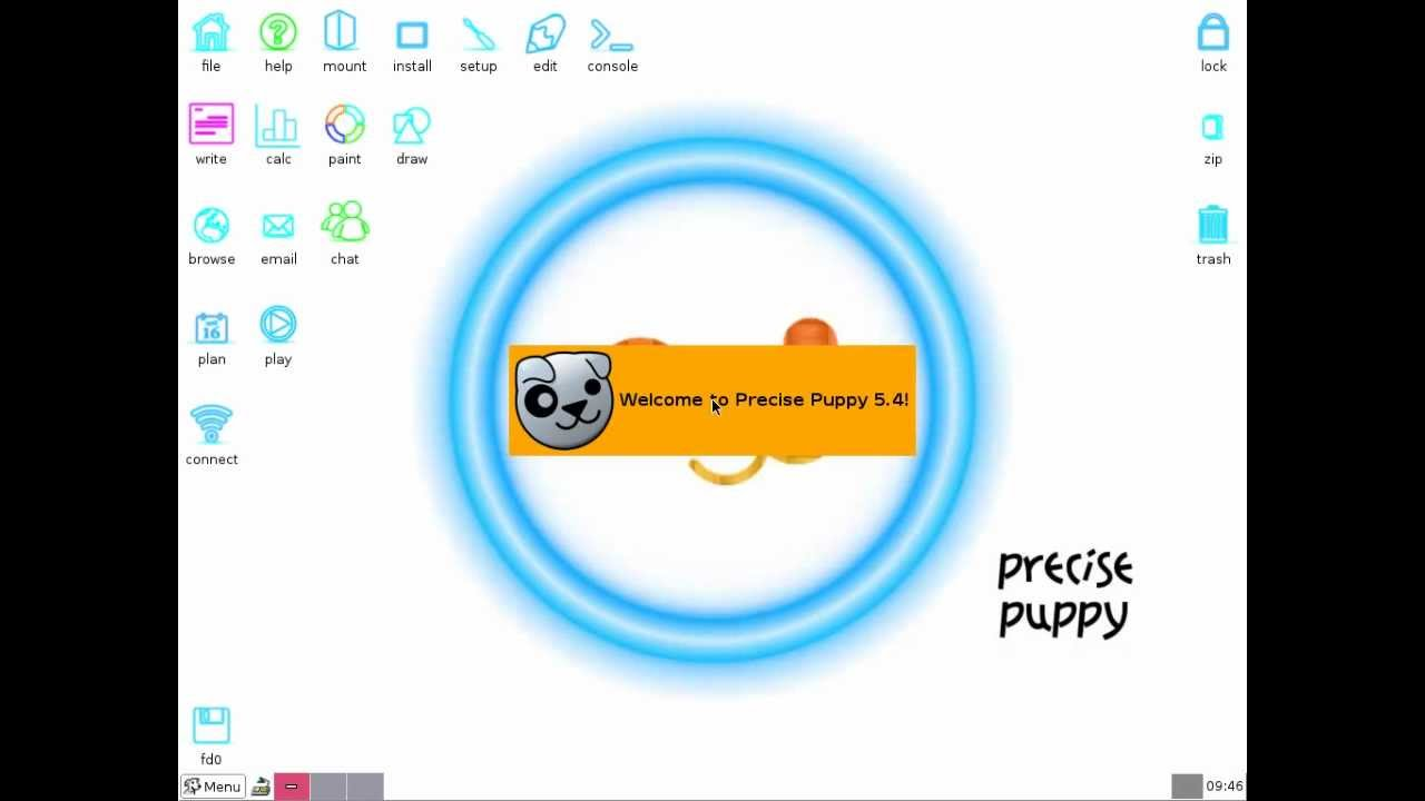 puppy linux 5.4