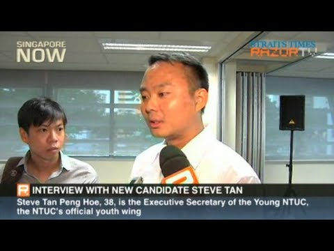 Interview with new candidate Steve Tan