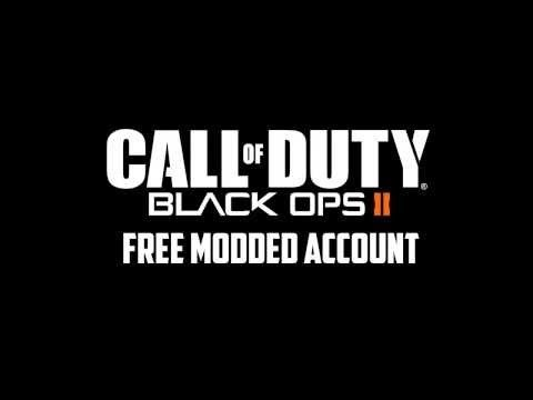 Call of Duty Black Ops 2 Free Modded Account Giveaway!