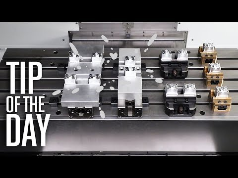 Run More Than One Part at a Time; How Production Shops Use M97 - Haas Automation Tip of the Day