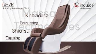 Indulge iS-7R - iSofa Series - Luxurious Rocking Massage Chair