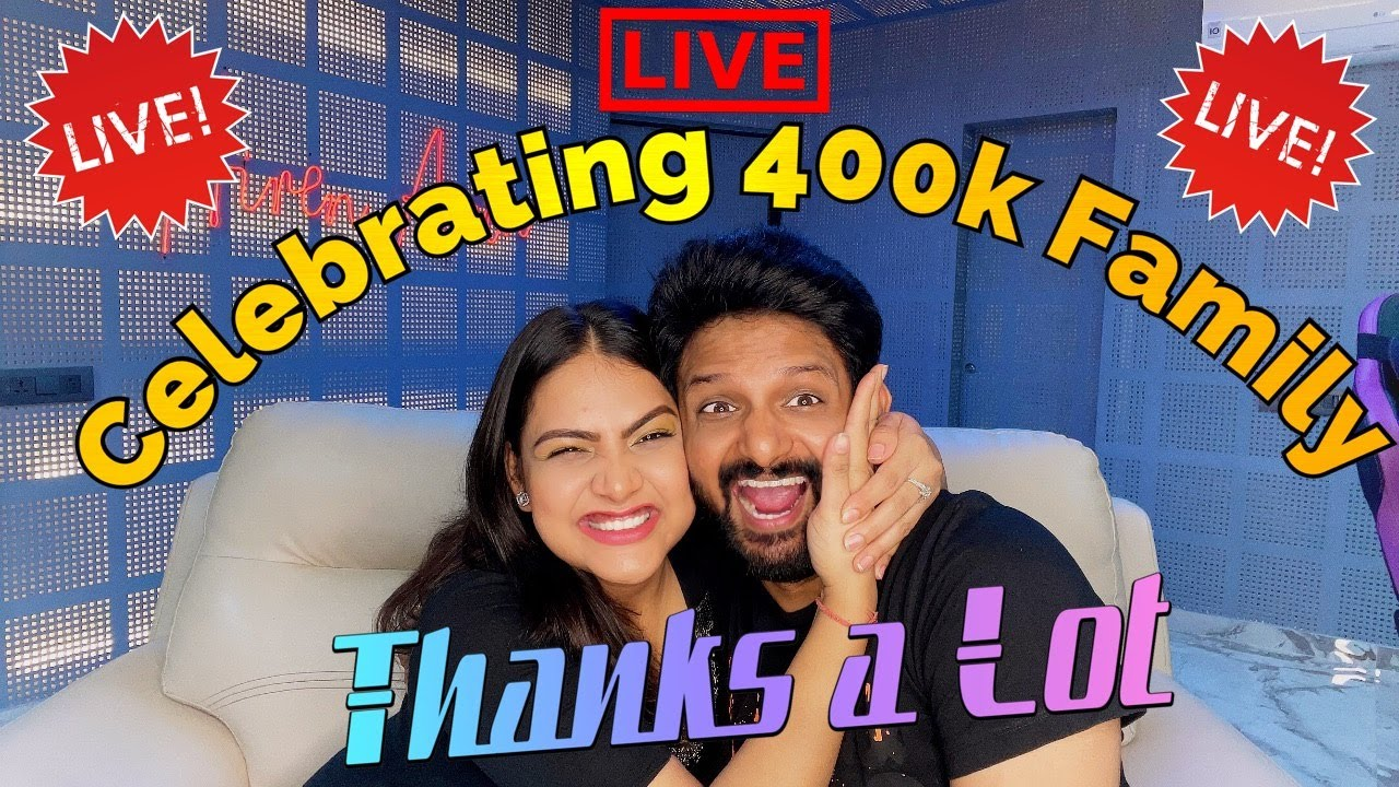 400K SPECIAL LIVE CELEBRATION  | Join with Lots of Love :*