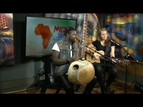 Sousou and Maher Cissoko with Heather Maxwell on Music Time in Africa