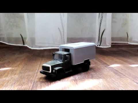 Газ 3307 Автозак - Обзор масштабной модели