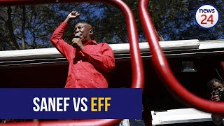 WATCH LIVE: Sanef takes on EFF in court for 'intimidation' of journalists