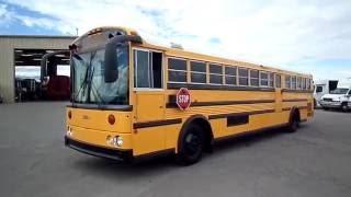 used bus for sale 2002 thomas built saf t liner hdx school bus b21777