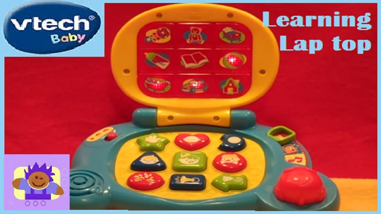 Vtech Baby's Learning Laptop Educational Toy - YouTube