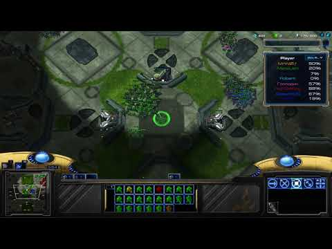 StarCraft II Arcade - Marine Arena EU - Support Strategy: GhostFestor!