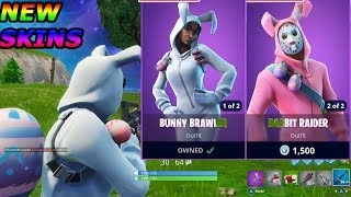 New Easter Skins - Giveaway-Fortnite Battle Royale lapin bagarreur Gameplay