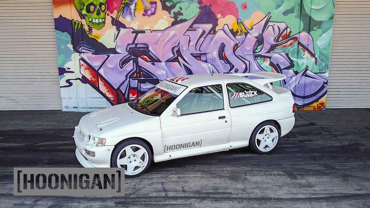 Hoonigan Escort >> [HOONIGAN] DT 129: Ken Block's 1991 Ford Escort Cosworth Group A Rally Car - YouTube