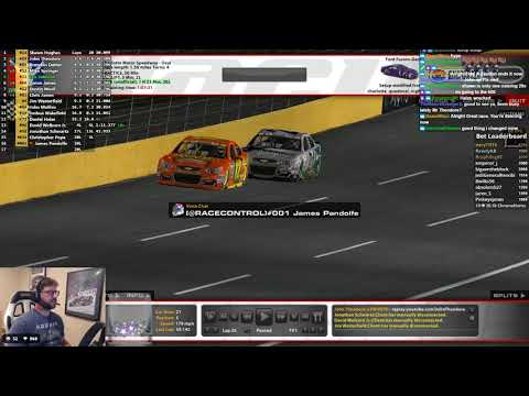 iRacing DRL All Star Open / B Main / Last Chance Qualifier at Charlotte 5/22/2018