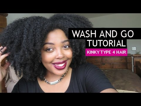 wash and go tutorial kinky type 4 4a 4b 4c hair youtube. Black Bedroom Furniture Sets. Home Design Ideas