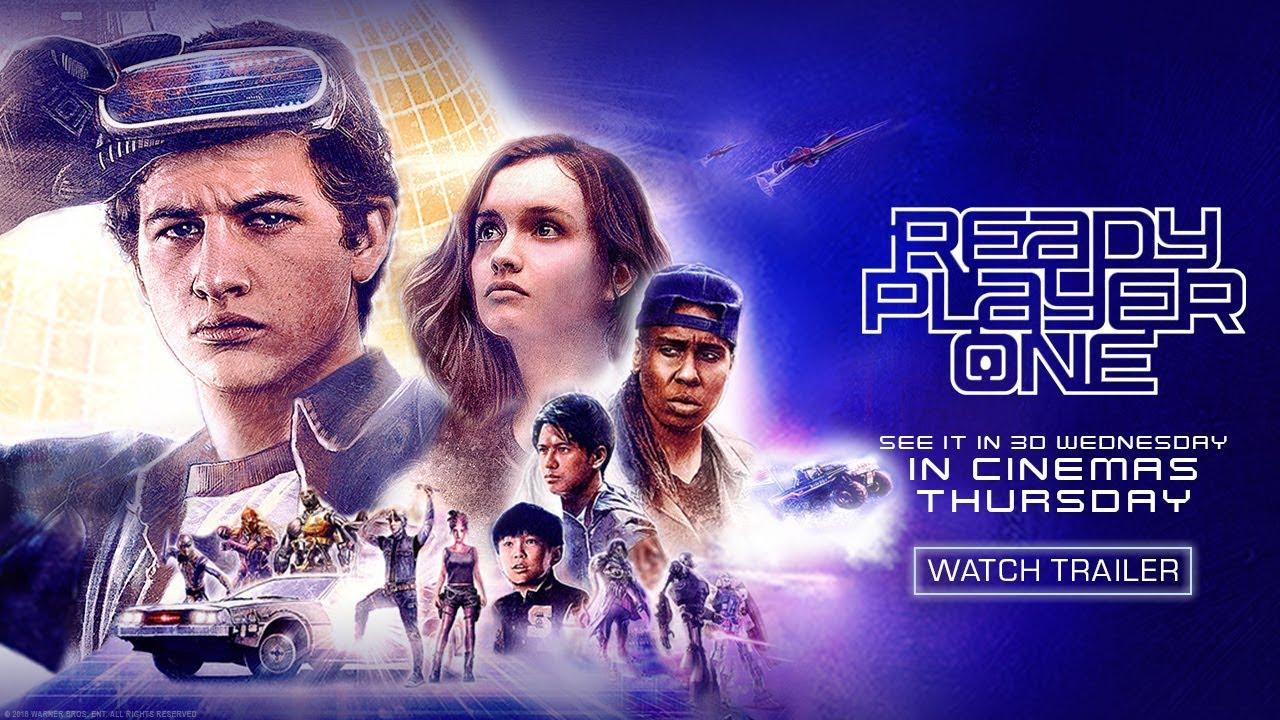 Ready Player One - Control TV Spot - Warner Bros  UK