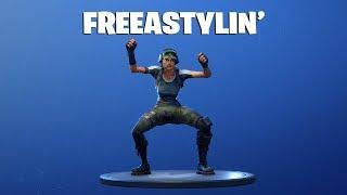 FORTNITE - Freestylin' Emote - Twitch Prime Pack #2